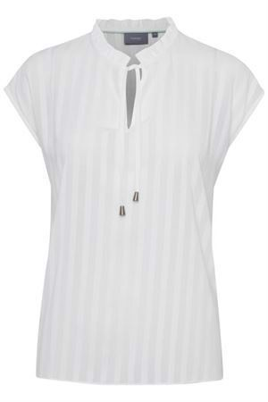 B.young ByHeather Top Off White