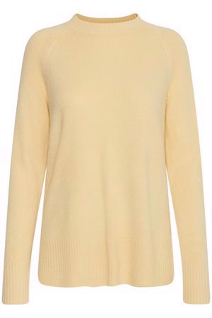 B.young ByMalea Crew Neck French Vanilla