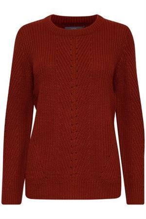 B.Young ByMelissa  Pattern Jumper Dark Copper