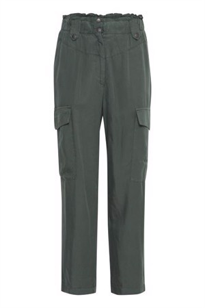 B.young ByEmma Cargo Pants Jungle Green
