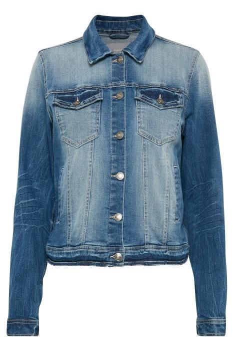 B.young Pully Denim Jacket Medium Blue