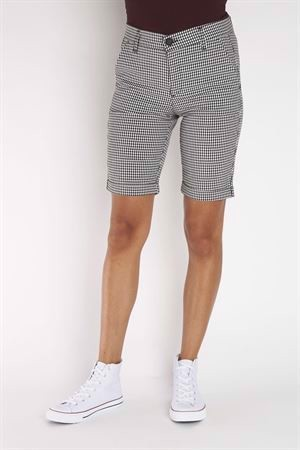 BJ by Bessie Pil-VB27 Shorts Large Check