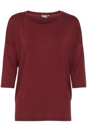 B.young Jazlyn Blouse Red Wine