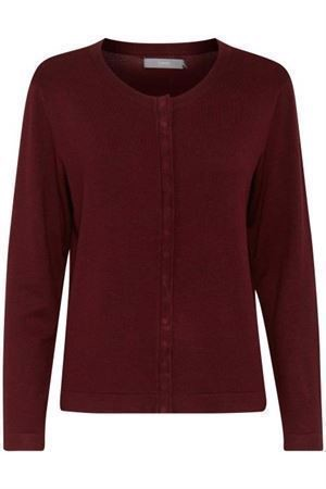 B.young Pimba Short Cardigan Red Wine