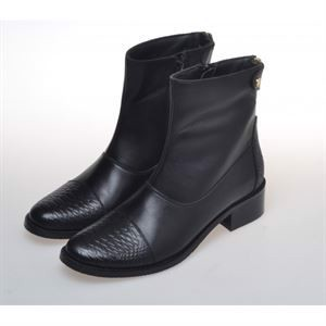 Copenhage Shoes She Snake Boot Black