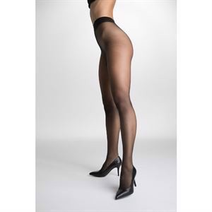 Decoy Soft Sheer Tights Run-Resistant Black 15Den
