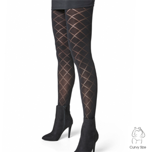Decoy Tights Diamond Black