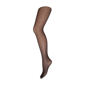Decoy Tights Net With Dots Black 20 Den
