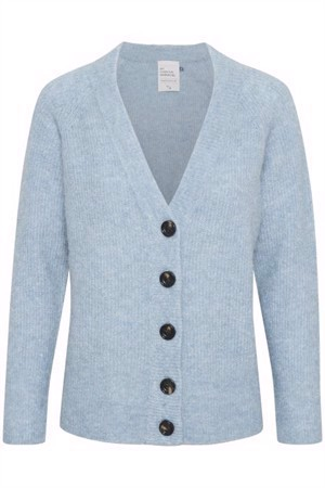 Denim Hunter 04 The Knit Cardigan Ashley Blue Melange