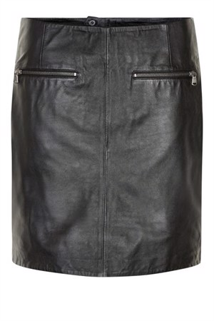 Denim Hunter Janis L Skirt Black