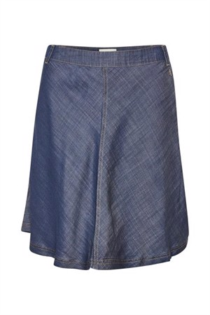 Denim Hunter Maria Skirt Dark Wash