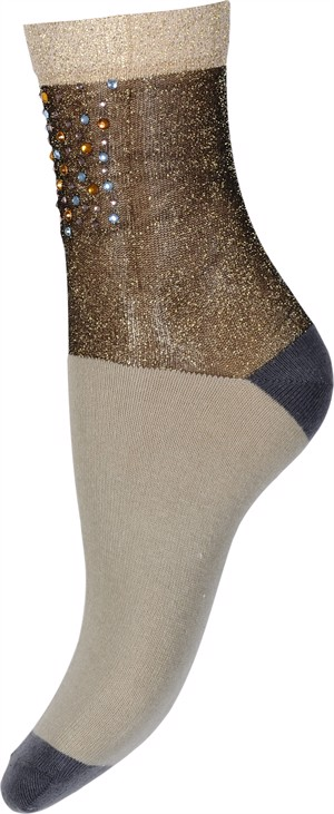 Hype the Detail Sock Diamant Gold