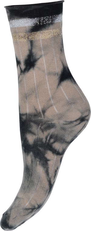 Hype the Detail Sock Tie-Dye Beige