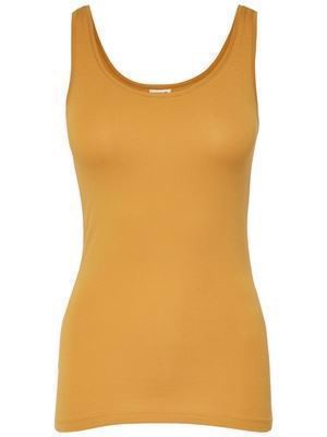 JDY Ava Tank Top Noos Golden Spice