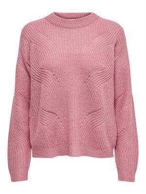 JDY Daisy L/S Structure Pullover Knit Noos Polignac