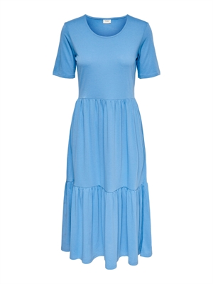 JDY Dalila Frosty S/S Dress Noos Lichen Blue