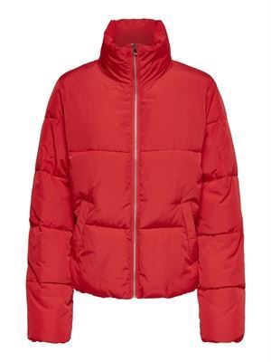 JDY Erica Short Padded Jacket Goji Berry