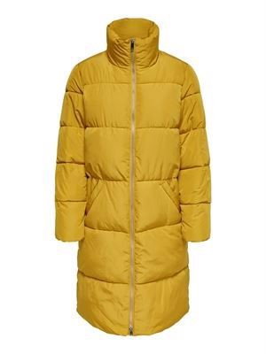 JDY Erica X-Long Padded Jacket Harvest Gold