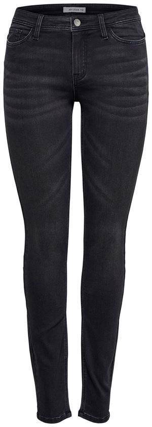 JDY Jake Skinny RW Black Denim