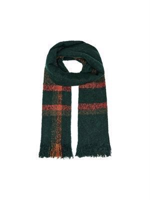 JDY Lia Woven Check Scarf Scarab Checks