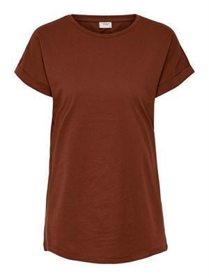 JDY Louisa S/S Fold Up Top Noos Smoked Paprika