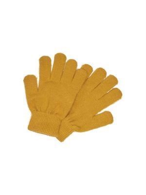 JDY Mila Knit Gloves Harvest Gold