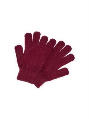 JDY Mila Knit Gloves Pomegranate
