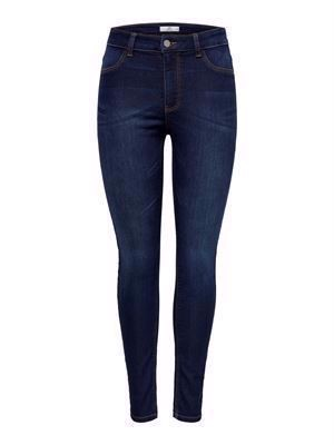 JDY Nikki Jegging Reg Dark Blue DNM Noos Dark Blue Denim