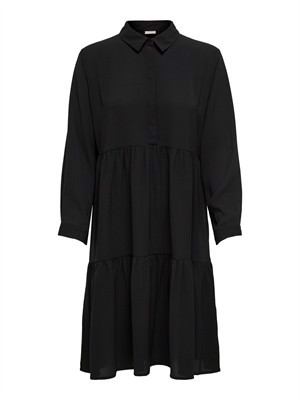 JDY Piper L/S Shirt Dress Noos Black