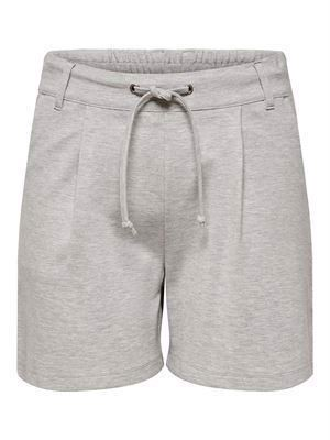 JDY Pretty Shorts Noos Light Grey Melange