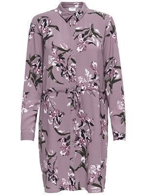 JDY Run L/S Shirt Dress Pale Mauve