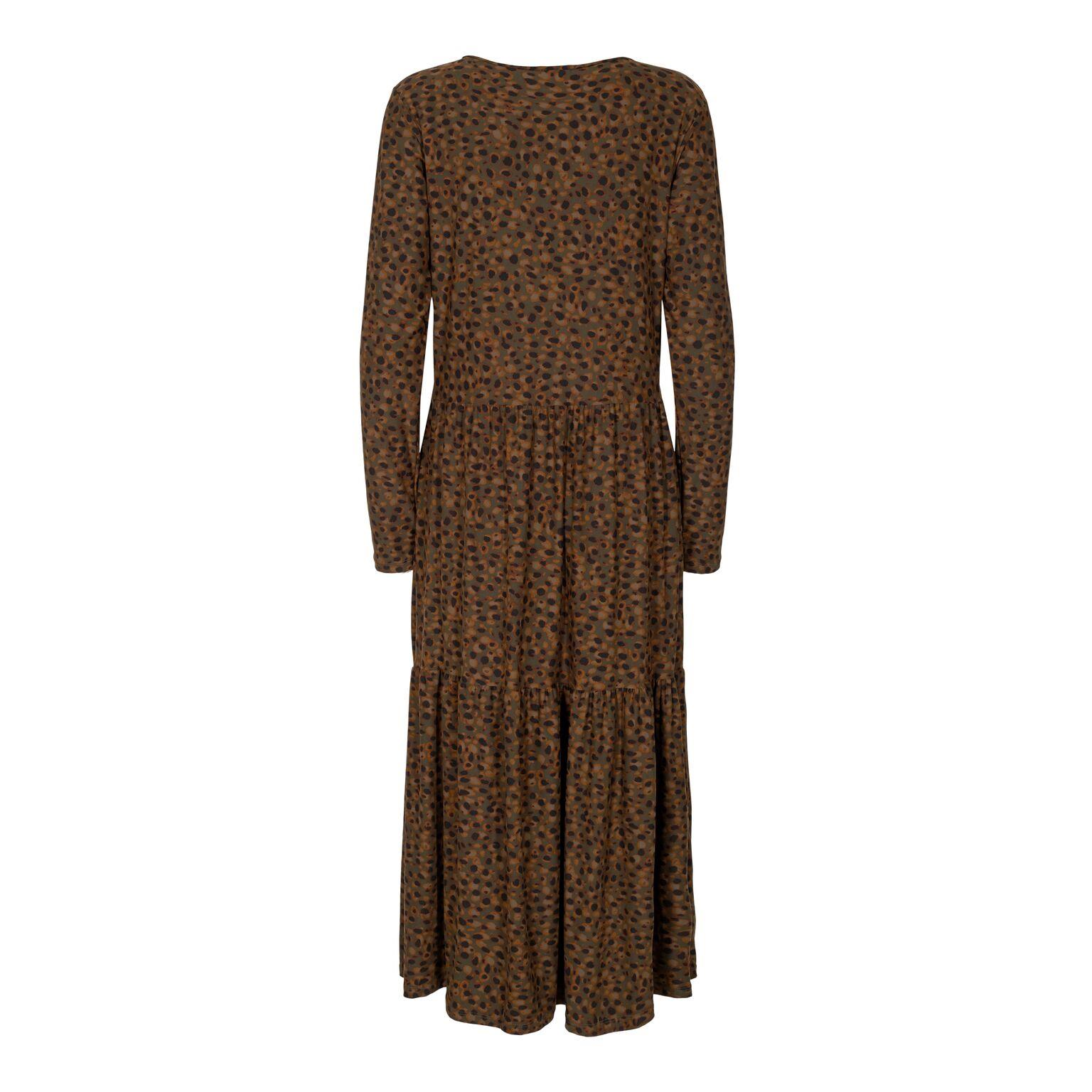 Liberté Alma Loose Dress LeoOlive
