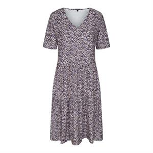 Liberté Alma Short Loose Dress Purple Flower
