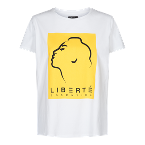 Liberté Ginger T-Shirt White/Yellow