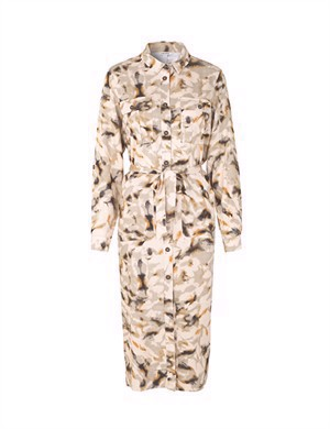mbyM Eleena Long Sleeve Dress Rodas Print
