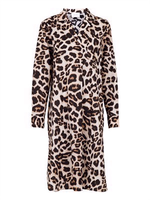 Neo Noir Jessica Crisp Leo Shirt Dress Leopard
