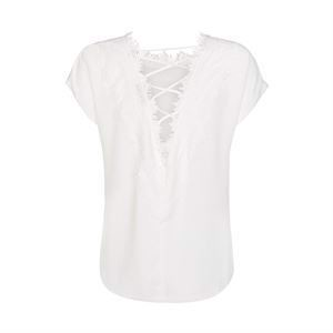 ONE TWO Darlene Blouse Cream