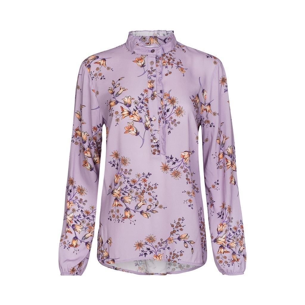 One Two Djami Blouse Heather