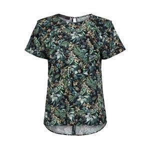 ONE TWO France Blouse Jungle Green