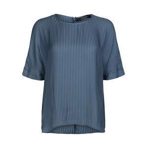 ONE TWO Frances Blouse Steel Blue