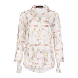 One Two Giannula Shirt Metallic Rose