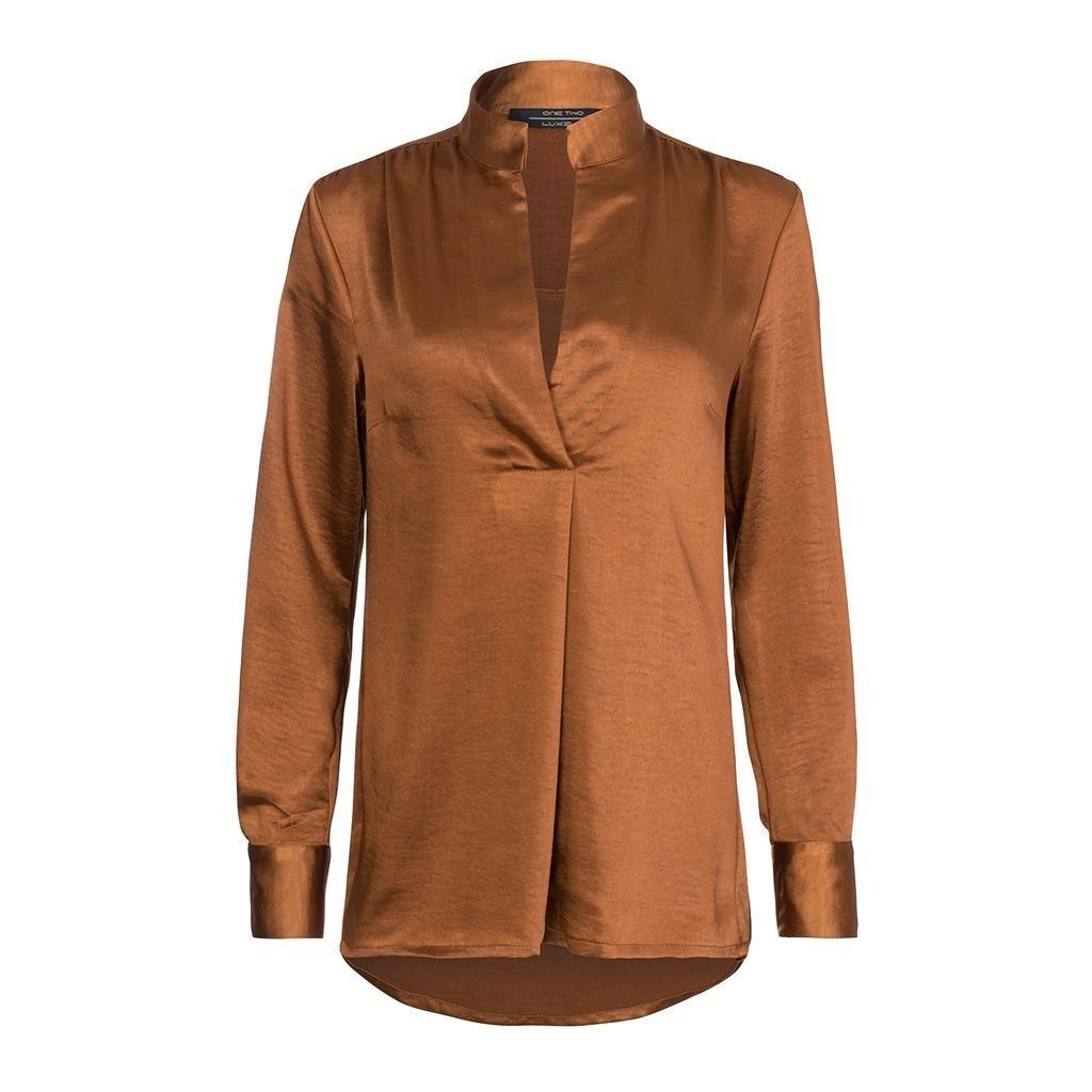 One Two Gigi Shirt Copper