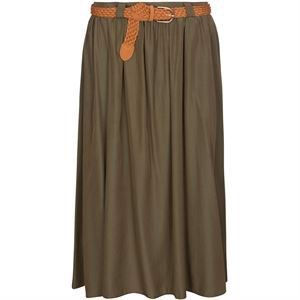 One Two Jacobea Skirt Olivo