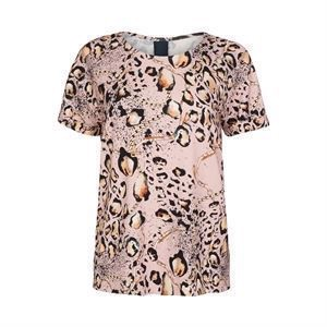 One Two Karin T-shirt Metallic Rose