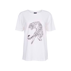 One Two T-Shirt Sneaky Tiger Cream