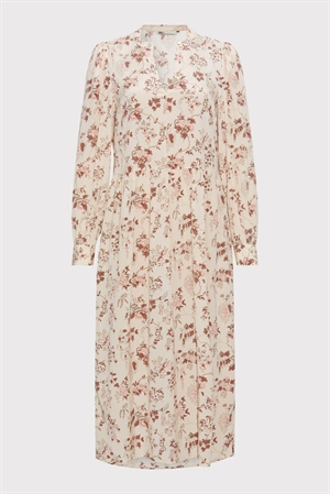 PBO Abu Dress Beige Print