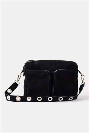Arya Suede Bag Black