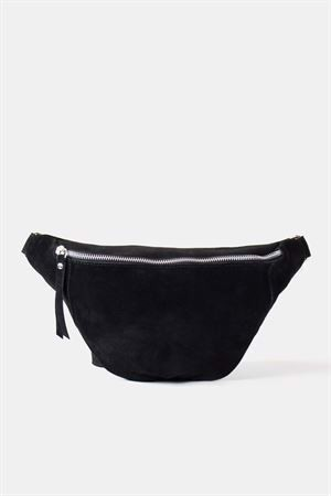 Re:designed Mette Suede Bag Black