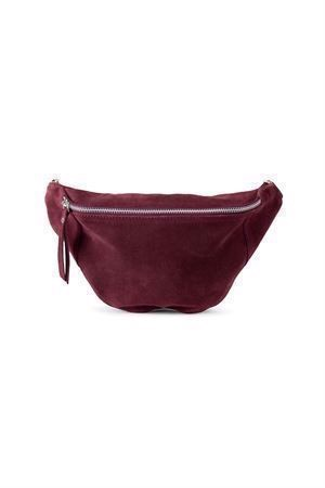 Re:designed Mette Suede Bag Bordeaux