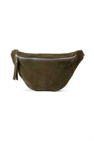 Re:designed Mette Suede Bag Dark Green
